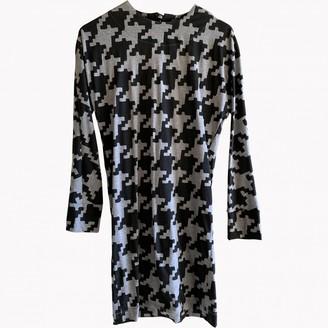 Preen Grey Cotton Dress for Women