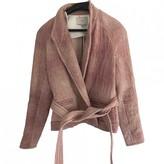 IRO Pink Cotton Jackets