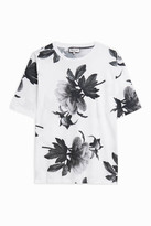 Paul & Joe Large Floral-Print T-Shirt