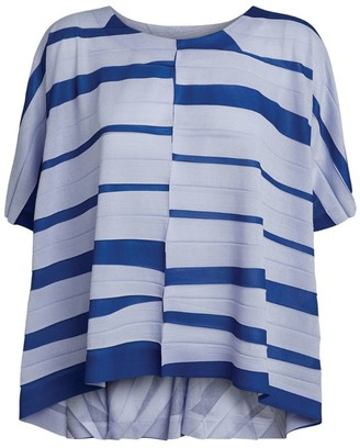 Issey Miyake Striped Top