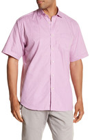 Thomas Dean Woven Short Sleeve Regular Fit Shirt