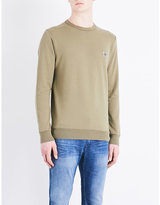Stone Island Patch-detail Cotton Sweatshirt