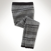 Fair Isle Wool Legging