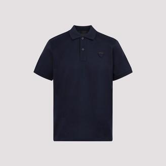 Prada Pique Polo Shirt