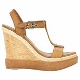 Miu Miu Brown Leather Heels