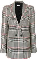 Anine Bing Madeline checked blazer