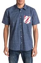 Quiksilver Men's New Merica Print Shirt