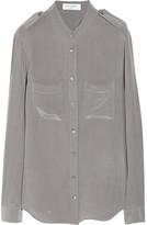 Equipment Carmen washed-silk shirt