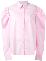 Marques Almeida Marques'almeida - puff sleeve shirt - women - Cotton - S