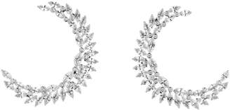 Swarovski x Penelope Cruz White Gold, Diamond and Topaz Luna Earrings