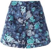 Burberry floral print shorts - women - Silk/Cotton/Acetate/Cupro - 12