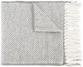 Eleventy fringed scarf