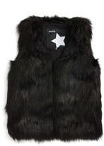 Molo Girl's Herminia Faux Fur Vest
