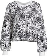 Joie Jeyne Animal Print Sweatshirt