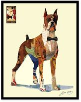 Alex Zeng The Boxer Collage Wall Art