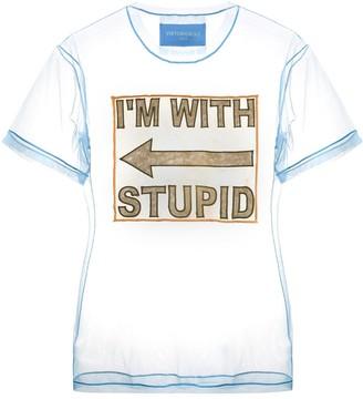 Viktor & Rolf tulle straight-fit T-shirt
