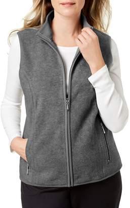 Karen Scott Petite Zip-Front Vest