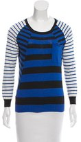 Thakoon Stripe Wool Top