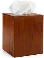 Hotel Collection CLOSEOUT! Teak Tissue Holder, Created for Macy's