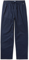 Polo Ralph Lauren Polka-dot Cotton Pyjama Trousers - Navy