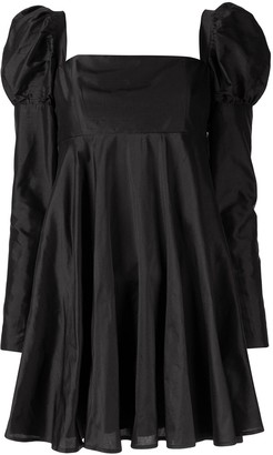 macgraw Romantic puff sleeve dress