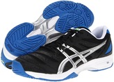 Asics Gel-Solution Slam (Black/Lightning/Royal Blue) - Footwear
