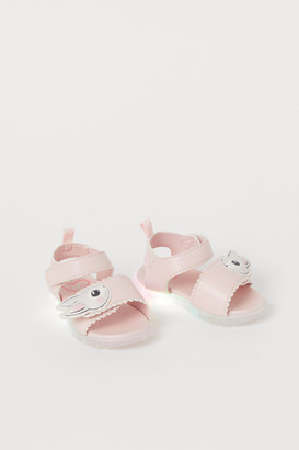 H&M Light-up Sandals - Pink