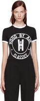 Hood by Air Black Cookie Bodysuit