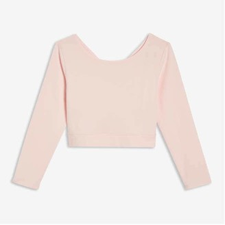 Joe Fresh Toddler Girls' Active Crop Top, Light Pink (Size 4)