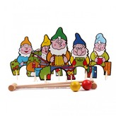 Vilac Seven Dwarfs Croquet Set