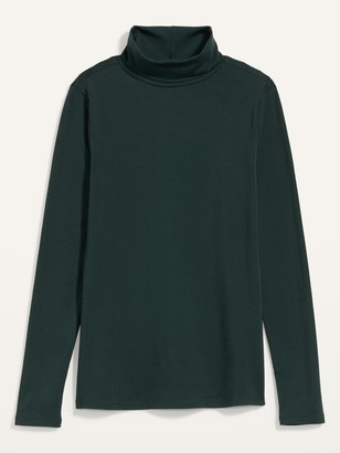 Old Navy Slim-Fit Long-Sleeve Turtleneck Tee for Women