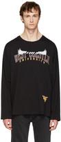 Maison Margiela Black Oversized University T-Shirt