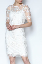 Mystic White Lace Dress