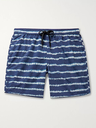 Onia Charles Long-Length Tie-Dye Swim Shorts