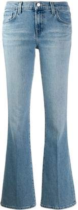 J Brand Sallie boot-cut jeans