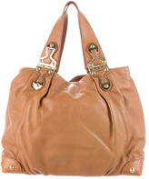 Michael Kors Pebbled Leather Satchel
