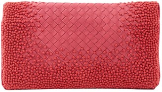 Bottega Veneta Pink Leather Clutch bags