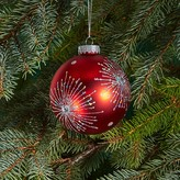Bloomingdale's Glass Red Studded Ball Ornament - 100% Exclusive