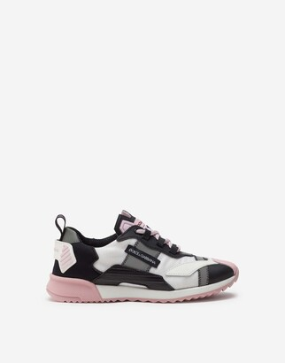 Dolce & Gabbana Ns1 Sneakers In Nylon With Reflective Details