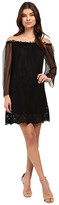 Brigitte Bailey Chaslee Off the Shoulder Lace Dress