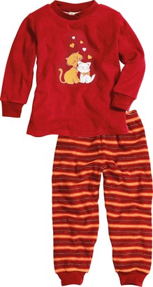 Playshoes Girl's Terry Cloth Cats Pyjama Sets