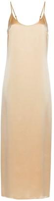 La Perla Long Silk Satin Slip Dress