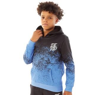 DFND London Boys Dust OTH Hoodie Blue/Black