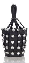 Alexander Wang Roxy Mini Bucket Bag with Glass Stones