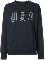Anine Bing USA sweatshirt - women - Cotton/Polyester - M