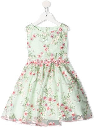 Lesy Embroidered Floral Dress