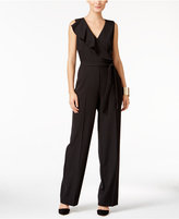 Thalia Sodi Ruffled Surplice Jumpsuit, Only at Macy's