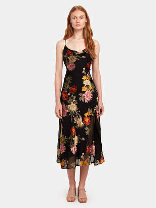 ASTR the Label Gaia Floral Midi Dress