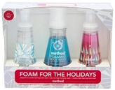 Method Products Foaming Hand & Body Wash 3 Piece Holiday Gift Set