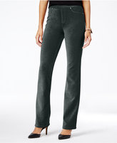 Style&Co. Style & Co. Corduroy Pull-On Bootcut Pants, Only at Macy's